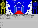 Masters of the Universe: Super Adventure ZX Spectrum Why would there be wax on the walls?