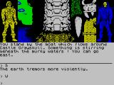 Masters of the Universe: Super Adventure ZX Spectrum The quaking problem begins