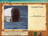 Oregon Trail II Windows Swamped wagon
