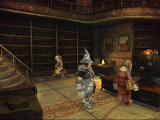 Final Fantasy IX PlayStation In the library