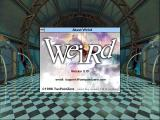 "Weird: Truth is Stranger than Fiction Windows 3.x Game start with ""About"" window"