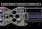 Mirax Force Atari 8-bit The same scene in grey