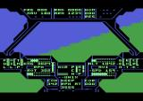 Super Huey UH-IX Atari 8-bit Flying along
