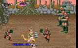 Golden Axe DOS Using the purple thing against enemies is a definite advantage