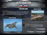 JetFighter 2015 Windows briefing for the first mission