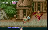 Golden Axe DOS Female warriors are dangerous, female warriors riding dragons are extremely dangerous!