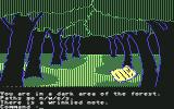 Transylvania Commodore 64 You are in a dark area of the forest. There  is a wrinkled note.