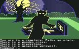 Transylvania Commodore 64 You are in a cemetery. There is a menacing werewolf.
