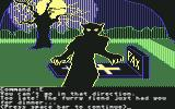 Transylvania Commodore 64 Too late! The furry fiend just had you for dinner...