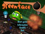 GreenFace Windows Title screen