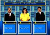 Jeopardy! SEGA CD Choose your appearance and name