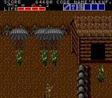 Bloody Wolf TurboGrafx-16 Soldiers parachuting down