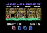 Joe Blade II Atari 8-bit The next screen has an open door