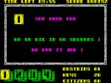 Joe Blade II ZX Spectrum Ready for the first number game