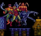Spider-Man SNES The villains - Dr. Octopus, Green Goblin, Smythe