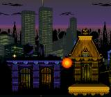 Spider-Man SNES The city is in flames! sort of....