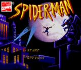 Spider-Man SNES Title screen