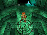 Threads of Fate PlayStation Rue in a dungeon