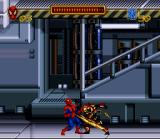 Spider-Man SNES The first enemy