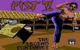 Fist: The Legend Continues Commodore 64 Title screen