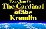 The Cardinal of the Kremlin DOS Title screen.