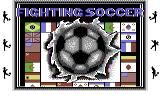 Fighting Soccer Commodore 64 Title screen