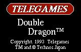 Double Dragon Lynx Company name and game title