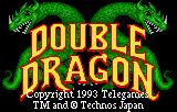 Double Dragon Lynx Title screen