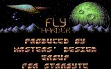 Fly Harder Commodore 64 Title screen