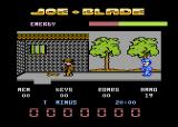 Joe Blade Atari 8-bit I found a guard I need to kill.