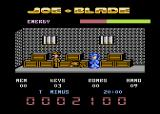 Joe Blade Atari 8-bit I found a prisoner in need of rescue.