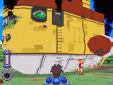 Mega Man Legends Windows Well, any landing you can walk away from...