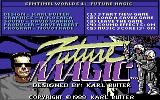 Sentinel Worlds I: Future Magic Commodore 64 Title screen
