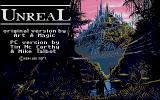 Unreal DOS Title screen (VGA)