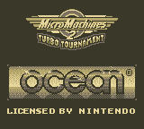 Micro Machines 2: Turbo Tournament Game Boy Title Screen