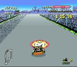 F-Zero SNES Touching an orange coloured rival car with power down is not recommended.