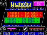 Hunchy ZX Spectrum Title page