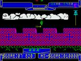 Hunchy ZX Spectrum Avoding the arrow as it moves.