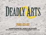 Deadly Arts Nintendo 64 US title screen