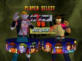 Deadly Arts Nintendo 64 Player selection screen