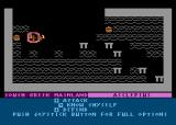 The Return of Heracles Atari 8-bit Further move options are shown at the bottom.