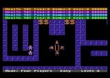 Dandy Atari 8-bit Starting the game with 4 players
