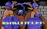 Gauntlet: The Deeper Dungeons Commodore 64 Title screen