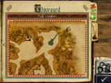 Might and Magic IX Windows Map display. The light area is where you can walk, everything else is off limits.