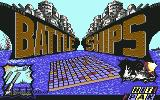 Battleship Commodore 64 Title