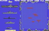 Battleship Commodore 64 Setting up the board