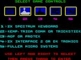 Ugh! ZX Spectrum Control selection