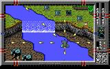 Major Stryker DOS Land Zone - Another nice detail: A waterfall