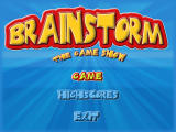 Brainstorm: The Game Show Windows Title screen