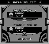 Picross 2 Game Boy Select a file.